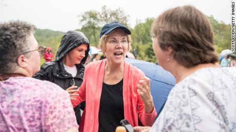 Elizabeth Warren embraces Jay Inslee's climate change platform
