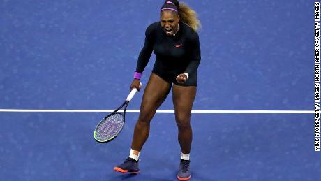 Serena Williams dominates Wang Qiang to reach US Open semifinals