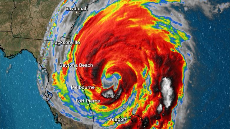 Hurricane Dorian slams the Bahamas, heads along East Coast