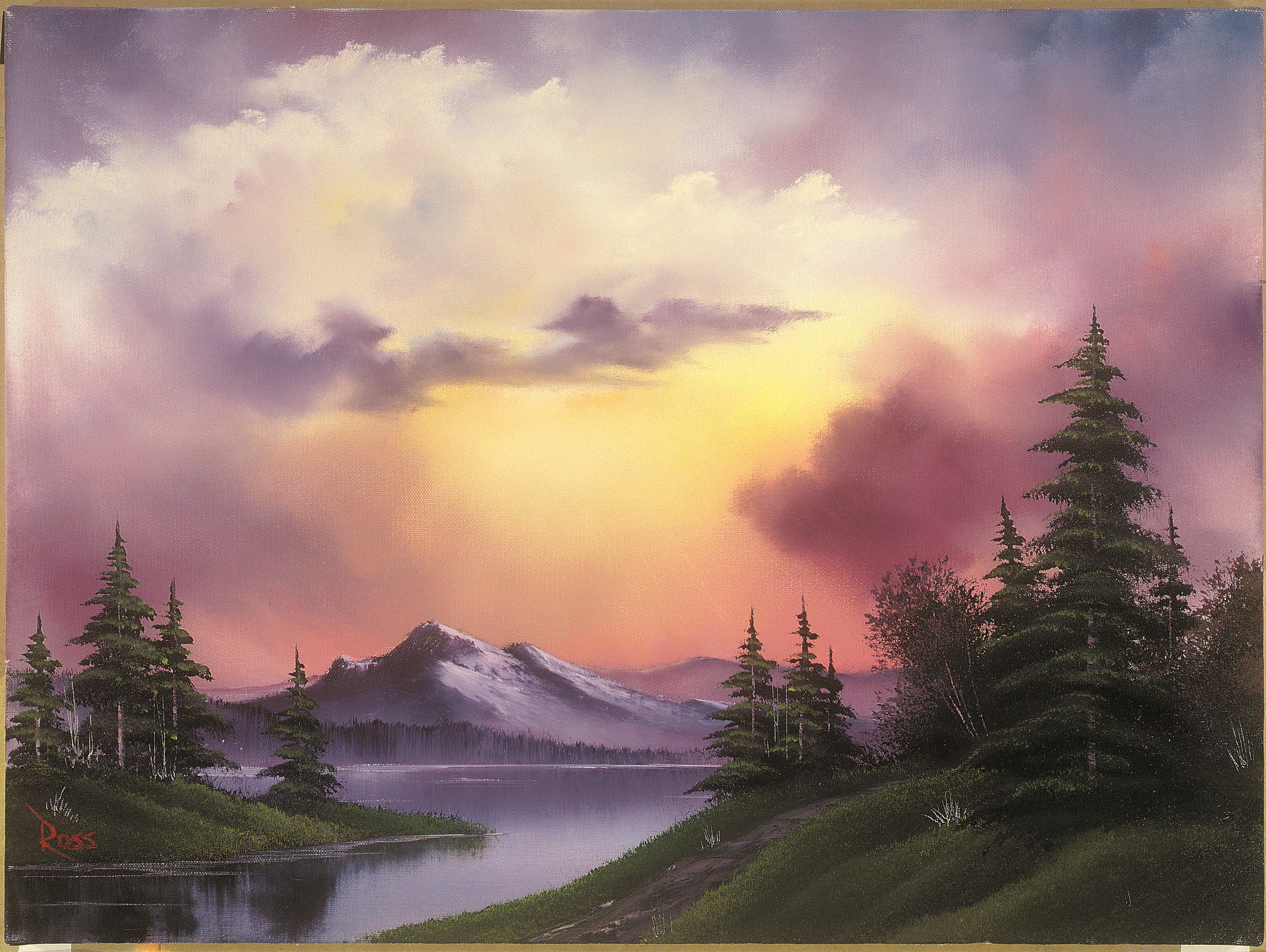 Bob Ross, the TV painter, is finally being recognized in an