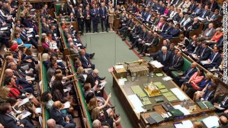 The 'mother of parliaments' is falling apart on live TV