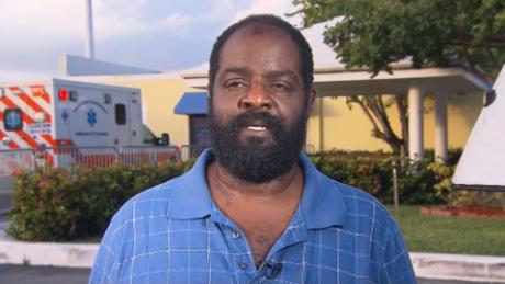 Blind Bahamas man carried his disabled son to safety as Hurricane Dorian raged