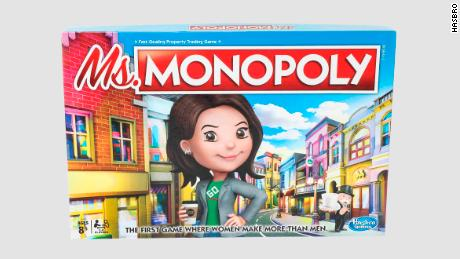 Ms. Monopoly is 'the first game where women make more than men'