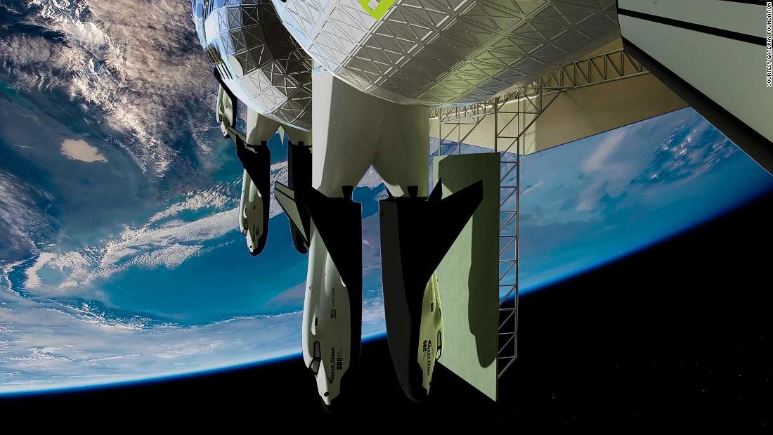 Designs revealed for a new space hotel