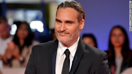 "Joaquin Phoenix attends the ""Joker"" premiere Monday during the 2019 Toronto International Film Festival."