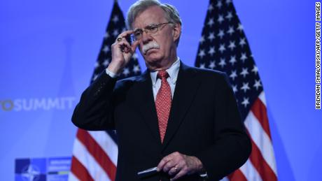 Trump fires national security advisor John Bolton