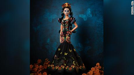 New 'Day of the Dead Barbie' celebrates Mexican holiday