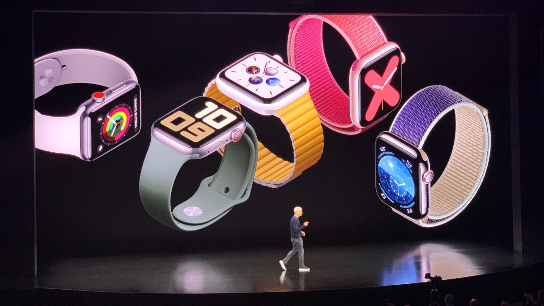 Apple reveals new Watch Series 5, with always on display