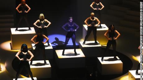 Rihanna stages Savage X Fenty show at New York Fashion Week