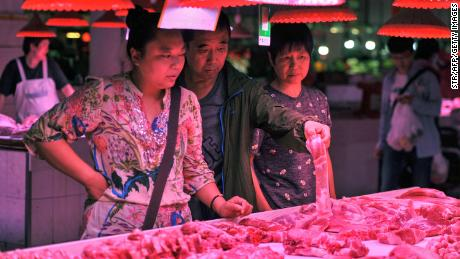 China is starting to eat into its emergency reserves of pork