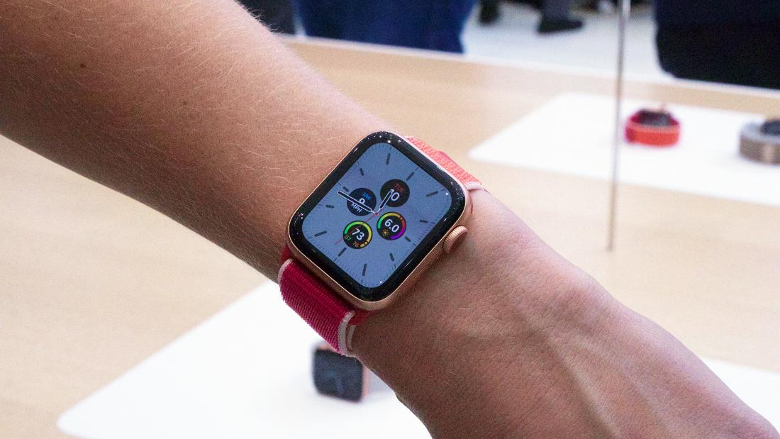 We tried the Apple Watch Series 5 and its always-on display is handy