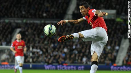 Angel Di Maria struggled to make an impact during his time at Old Trafford.