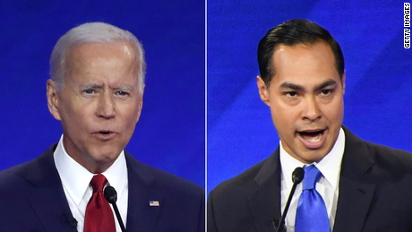 2020 Democrats push back at 'personal' attack after Castro questions Biden's memory