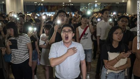 How a Hong Kong protest song became an unofficial 'anthem'