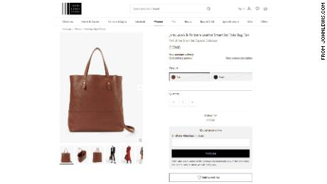 Meghan's fashion range launches -- and her bag is already sold out
