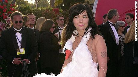 Remember when Björk wore a swan dress at the Oscars?