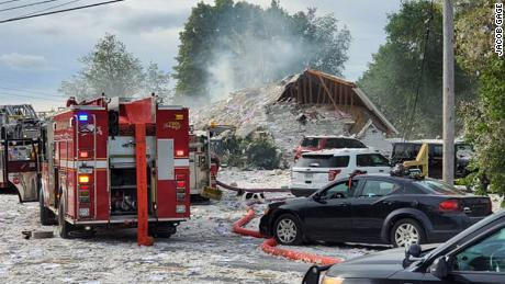 Propane Explosion Kills Firefighter, Injures 6 Others in Maine