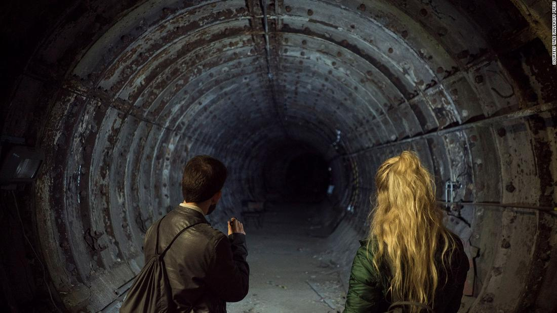 Exploring London's abandoned underground stations