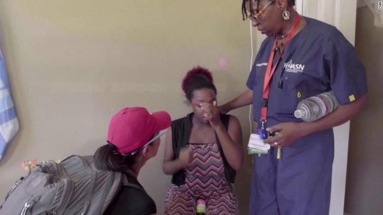 These US medics go door to door in the Bahamas. The need for help is endless