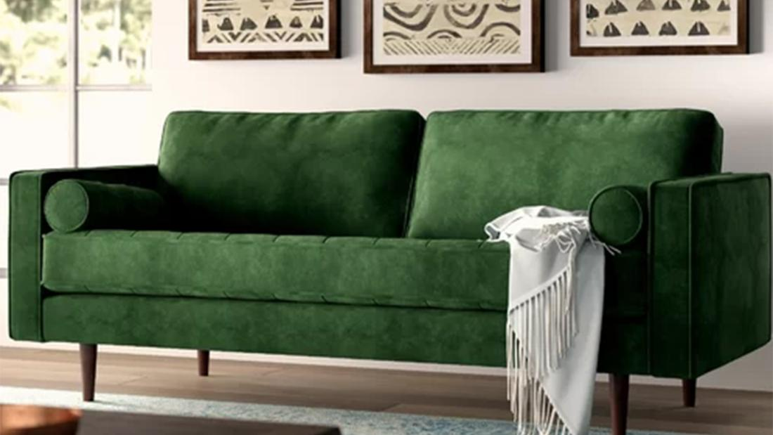 Wayfair's cult-favorite couch is more than half off right now