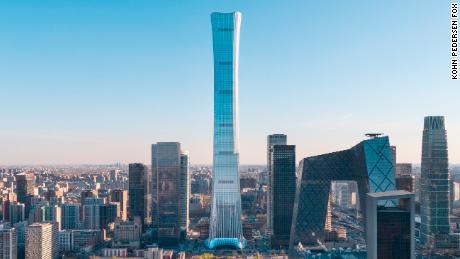 Vessel-shaped 'supertall' skyscraper transforms Beijing's skyline