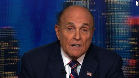 Rudy Giuliani denies asking Ukraine to investigate Biden -- before admitting it