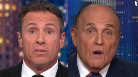 Chris Cuomo's weird interview with Rudy Giuliani: 'I'm embarrassed, for you'
