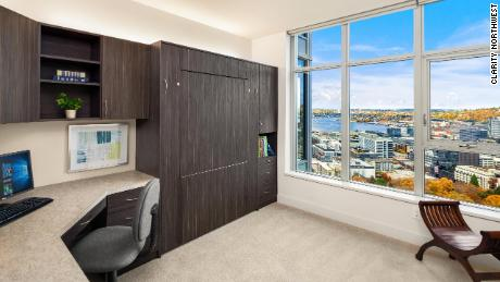 This two bedroom condo in Seattle is listed at $1.198 million, reduced from $1.395 million.