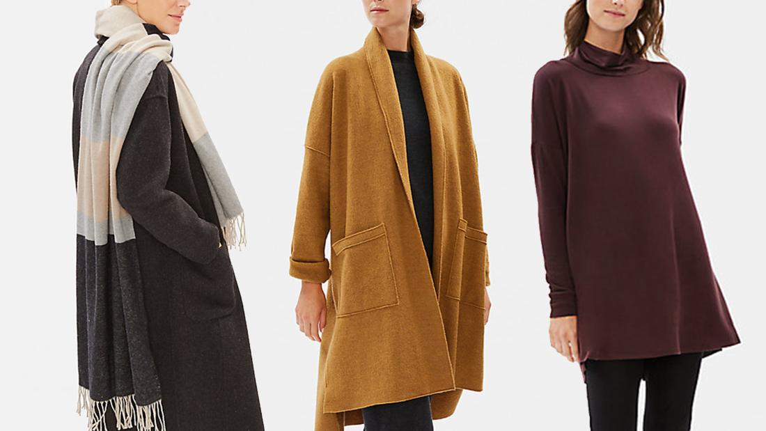 For one day only, save big on your fall wardrobe during Eileen Fisher's sale