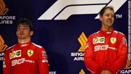 Charles Leclerc se penche sur la saison mouvementée pour Ferrari