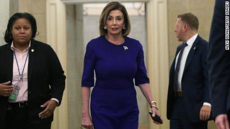 Pelosi had been cool to pursuing impeachment until the whistleblower story broke.