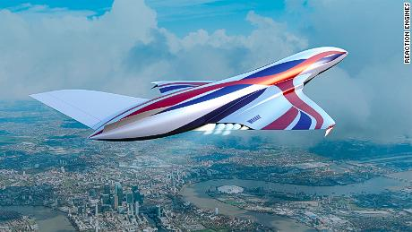 Hypersonic 'space plane' promises four-hour London to Sydney flights by 2030s