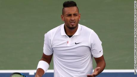 Nick Kyrgios has had a long history of controversy throughout his career.