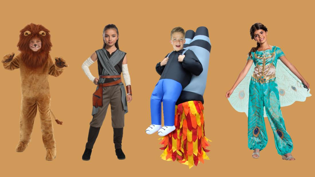 The best Halloween costumes for kids: Descendants, Spider-Man, baby shark and more