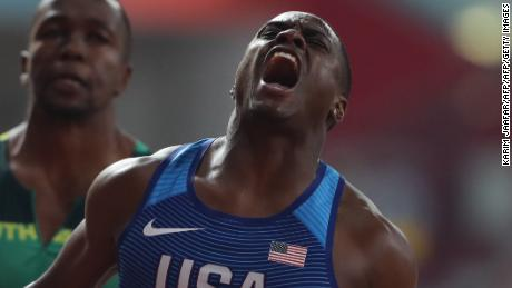 World Athletics Championships: Coleman storms to 100m gold