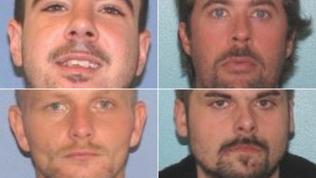 Search underway for 4 escaped inmates considered extremely risky