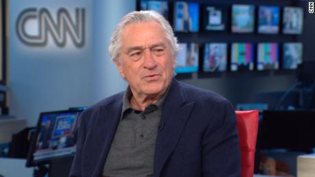 Robert De Niro drops f-bomb on critics of anti-Trump stance