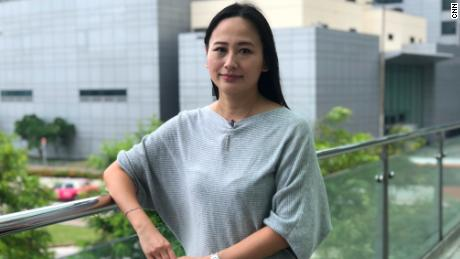 A senior air steward and union organizer for Cathay Dragon, Rebecca Sy, was one of the first staff members to be dismissed.