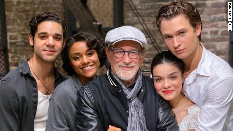 Steven Spielberg celebrates end of 'West Side Story' filming with sneak peek photos