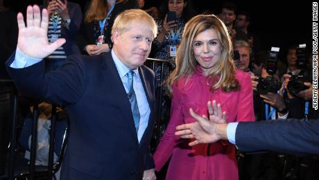 Boris Johnson, seen at the Conservative Party conference, with his girlfriend Carrie Symonds, currently enjoys rock-star status, as do many of his inner circle.