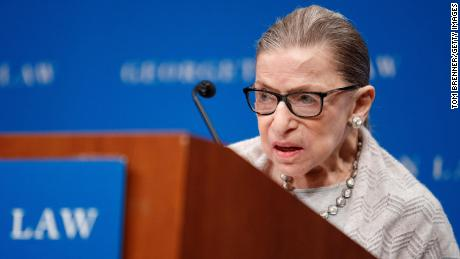 Justice Ruth Bader Ginsburg dominates in abortion case