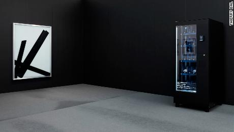 British artist Ryan Gander's vending machine sells art for $600 a pop