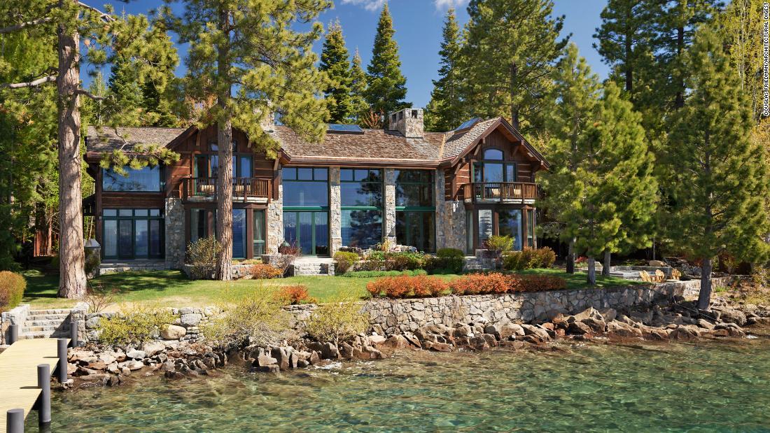 Dalam Instagram co-pendiri Lake Tahoe rumah