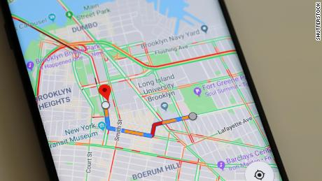Google Maps incognito mode mostly hides you from you