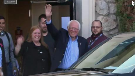 'I'm feeling great': Bernie Sanders back home and recovering after heart attack