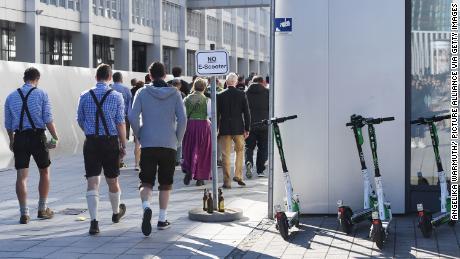 Hundreds lose their driving licenses during Oktoberfest e-scooter mayhem