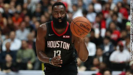 NBA star James Harden says China backlash is 'not a distraction'