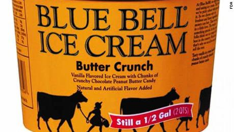 Blue Bell announced the recall Tuesday.