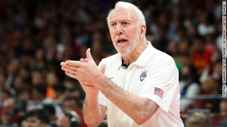 Gregg Popovich praised NBA commissioner Adam Silver but was critical of President Trump.