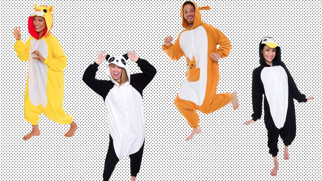 These cozy animal Halloween costumes are 40% off right now